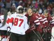 Latvijas izlase pasaules čempionātu uzsāks ar spēli pret Kanādu
