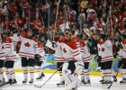 Vīriešu hokeja turnīrā klāt pusfināli