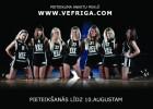 """""""VEF Rīga"""" izsludina uzņemšanu karsējmeiteņu deju grupā 2010/11. gada sezonai"""