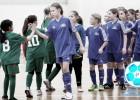 Latvijas meiteņu telpu futbola čempionātā dalībnieku rekordskaits