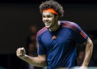 Tsonga Roterdamā izcīna 400. uzvaru, Gofāns nopelna Top 10 debiju