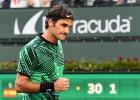 Federers arī Indianvelsā uzvar Nadalu, Kirjoss vēlreiz sakauj Džokoviču