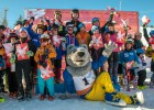 Komandu cīņās un individuāli U10  noskaidrojuši labākos Baltijas kausā kalnu slēpošanā (video)