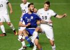 Fēru salas nespēj uzvarēt Andorā, Igaunija gūst grūtu punktu pret Kipru