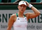 "Ranga līderei Kerberei sagrāve ""French Open"" 1. kārtā"