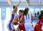 U18 meitenes atspēlē 17 punktu starpību, taču izskaņā zaudē Serbijai
