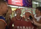 Video: <i>Uzāķējam</i> fanus: Blondīne komandā, galdnieks Dāvis, Strēlnieks izšauj