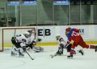 U17 hokejisti zaudē Krievijas U16 izlasei