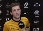"""Video: Rolands Kovaļevskis: """"Komanda labi spēlē un tas ir pats galvenais!"""""""