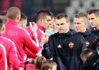 Maskavas CSKA gūst vārtus puslaika beigās un nosargā uzvaru pār serbiem