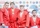 Latvijai trīs medaļas Eiropas čempionātā jauniešiem un junioriem sambo