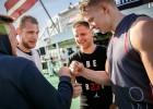"""""""LSA"""" 3x3 basketbolisti izcīna 3. vietu Stokholmas tūres finālā"""