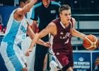 U20 basketbolisti sagatavošanās cikla ievadā kapitulē Ukrainai