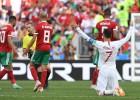 Ronaldu pārspēj Puškāšu, Portugāle notur uzvaru pār Maroku