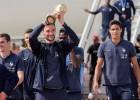 Francijas izlases futbolisti saņems valsts Goda leģiona ordeņus