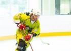 """""""OlainFarm"""" <i>inline</i> hokeja līgā uzvar """"Pirāti"""", vērtīgākais spēlētājs – Maslovskis"""