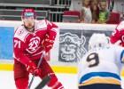 """Robertam Bukartam vārti, piespēle un uzvara pār Kontinentālās hokeja līgas klubu """"Sochi"""""""