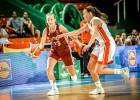 Oranžā diena Kauņā: U16 meitenēm pēdējā apakšgrupas spēle pret Nīderlandi