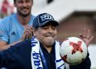 Maradona veselības dēļ pamet Meksikas otrās līgas kluba galvenā trenera krēslu