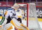 Merzļikinam 36 atvairīti metieni zaudējumā, latviešu hokejistiem rezultatīvs vakars Francijā