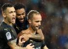 """Marseļas """"Olympique"""" galotnē izglābjas no zaudējuma un izrauj uzvaru Monako"""