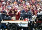 NFL spēlētājs Smits cīnās ar pēcoperācijas infekciju, apdraudēta karjera