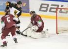 Latvijas U20 izlase zaudē Norvēģijai, vieta 1A divīzijā ir apdraudēta