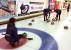 Jaunie kērlingisti savā starpā cīnīsies par Latvijas čempiona titulu