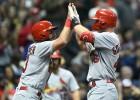 """Goldšmitam trīs """"Home run"""" otrajā spēlē """"Cardinals"""" kreklā"""