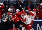 Krievija aizraujošā mačā pieveic Šveici un turpina cīnīties bez zaudējumiem