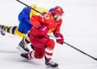 NHL zvaigžņu uzlidojums Bratislavā: Zviedrija pret Krieviju