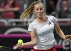 Bartone un Vismane svētdien Jūrmalā pirmoreiz spēlēs WTA kvalifikācijā