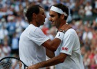 Vimbldonā tiekoties pirmoreiz kopš 2008. gada episkā fināla, Federers uzvar Nadalu