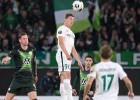 """Dubram brīdinājums Volfsburgā, """"United"""" mokās ar Grigorčuku, krievu klubiem 1:10"""