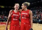 """Lebrons klātienē novērtē Mēsemanu, """"Mystics"""" sasniedz WNBA finālu"""