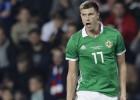 Čehija pēc triumfālās uzvaras pār Angliju negaidīti piekāpjas Ziemeļīrijai
