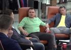 """Video: """"eXi"""": Valters atklāj, ka spēlējis ar lauztu pirkstu, Lūsiņš - savainotu muguru"""