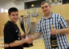 "Foto: ""Triobet"" Basketbola līgas galveno trofeju izcīna ""Friiki/Virtuozo"""