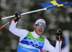 Zviedri triumfē 4x10 km stafetē