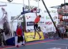 Video: Kristaps Dārgais - pasaules ''slam dunk'' vicečempions