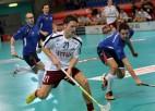Latvieši pārbaudes turnīru sāk ar uzvaru pār Slovākijas florbolistiem