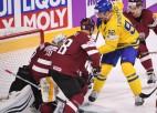 Latvija neizmanto iespējas vairākumā un zaudē Zviedrijai