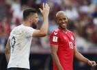 Svilpieni un pirmā spēle bez vārtiem: Dānija netraucē Francijai uzvarēt grupā