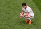 Viens no Irānas līderiem Azmuns fanu apvainojumu dēļ 23 gadu vecumā beidz karjeru izlasē