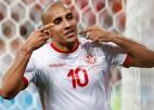 Tunisija atspēlējas pret Panamu un svin pirmo uzvaru Pasaules kausā kopš 1978. gada