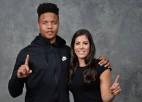 """Kelsija Plama: """"Markels Fulcs pārsteidza mani, atbraucot uz WNBA draftu"""""""