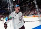 Itāļi savu vārtsargu atstāj likteņa varā, Latvija svin otro uzvaru turnīrā