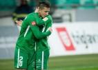 Francijā un Bulgārijā interesējas par Latvijas izlases aizsargu Maksimenko
