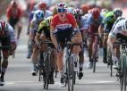 """""""Jumbo-Visma"""" neveiksmes turpinās,  """"Vuelta a Espana"""" debijā uzvar Jakobsens"""