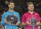 """Džokovičs un Vavrinka tiksies pirmoreiz kopš 2016. gada """"US Open"""" fināla, kurā uzvarēja šveicietis"""